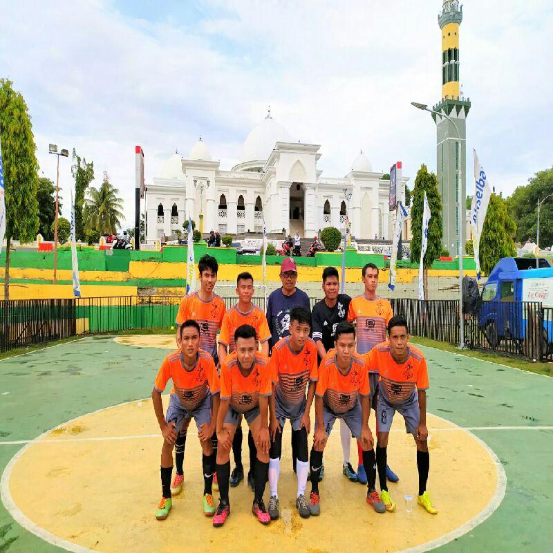 Tim Futsal Desa Leworeng Kandaskan Desa Masing 4-1
