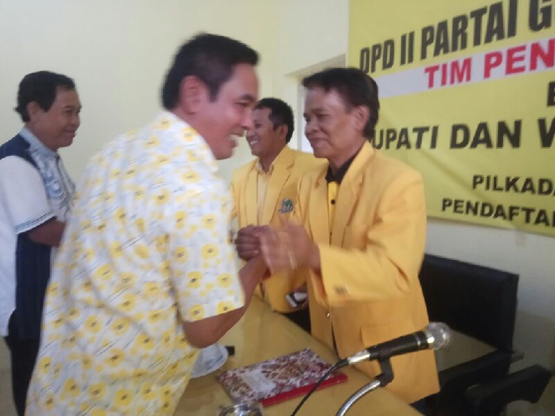 Mendaftar Di Golkar, Haeruddin : Orang Baik Mencari Orang Baik !