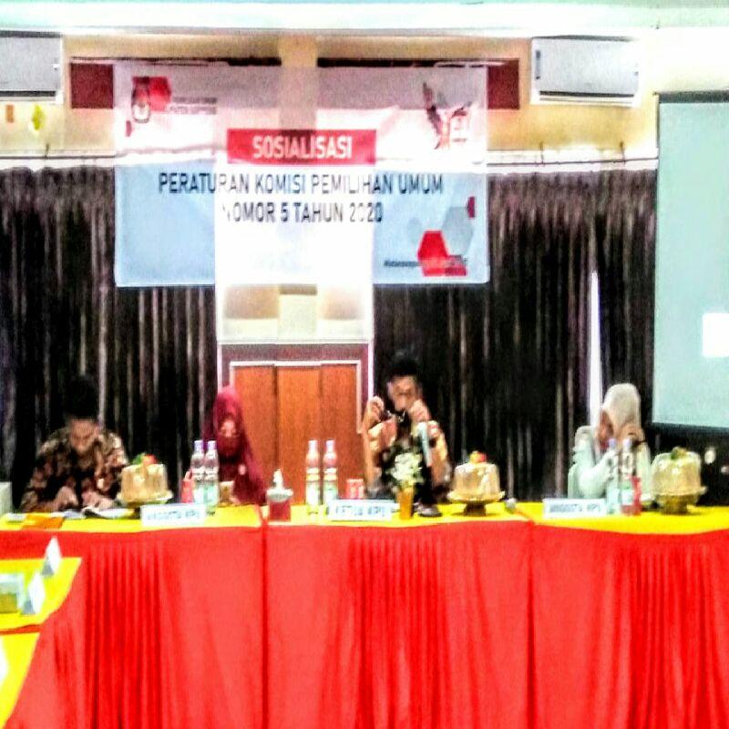 Dinilai Berat, KPU Soppeng Target 80 Persen Partisipasi Pemilih Di Pilkada