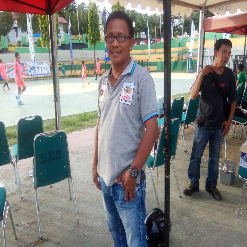 Ketua Panitia Tim Futsal PWI Sayangkan Sebelas Desa/Kelurahan Tak Ikut Turnamen