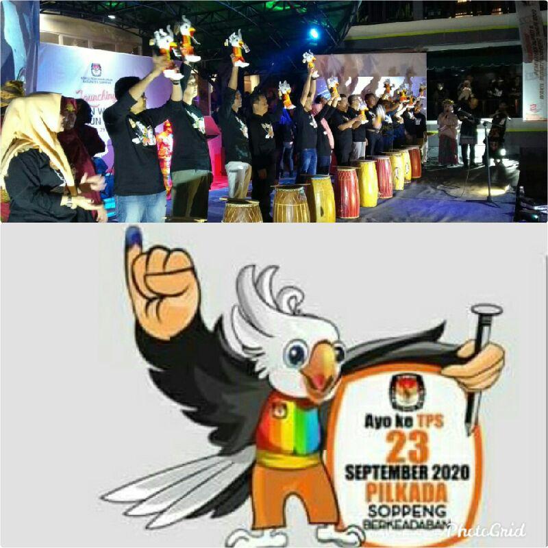 Si Katu, Maskot Pilkada 2020 Yang Di Launching KPU Soppeng