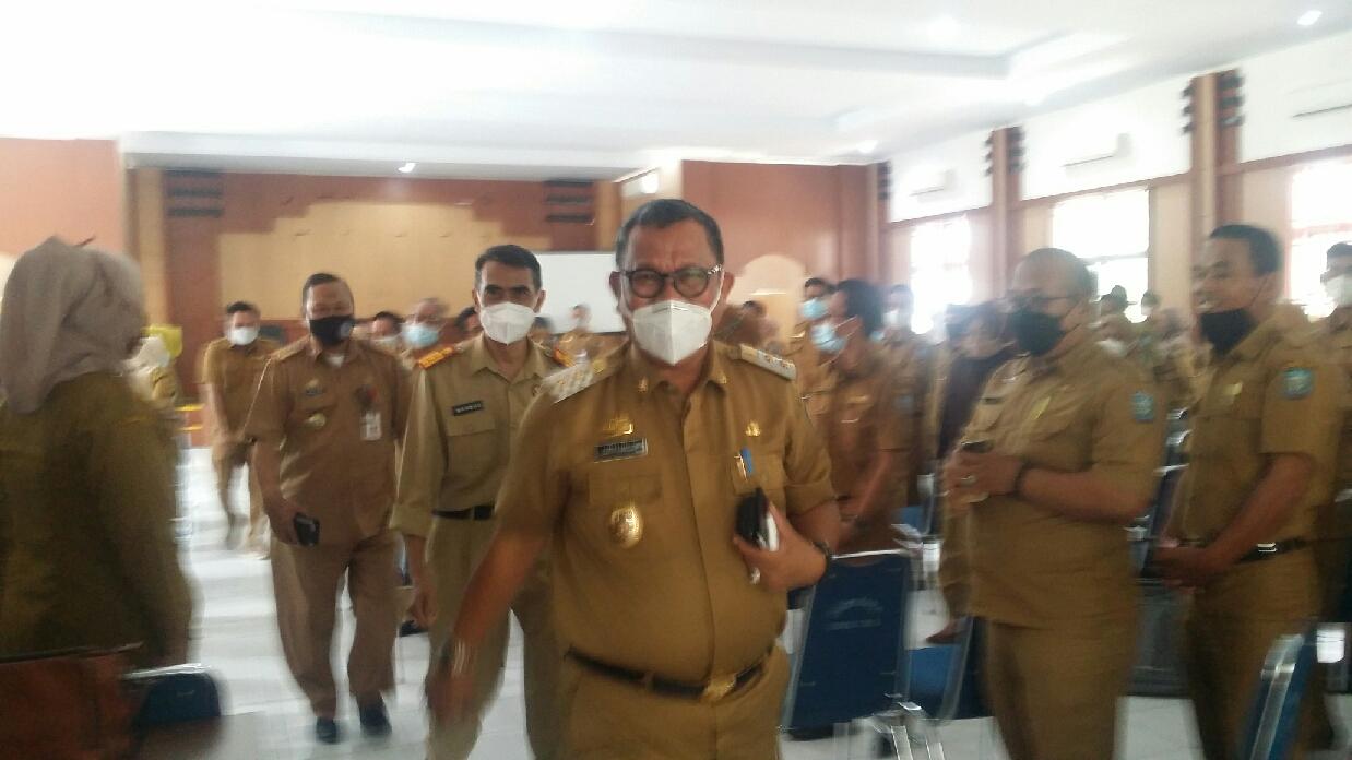 Hari Pertama Masuk Kantor, Lutfi Halide Lakukan Kunjungan Silaturahmi Ke SKPD
