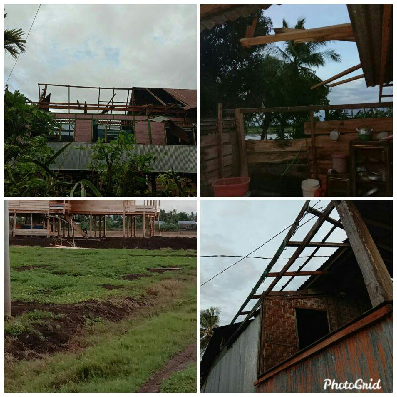 Desa Kessing Kembali Dirundung Duka,31 Rumah Rusak Diterjang Angin Kencang
