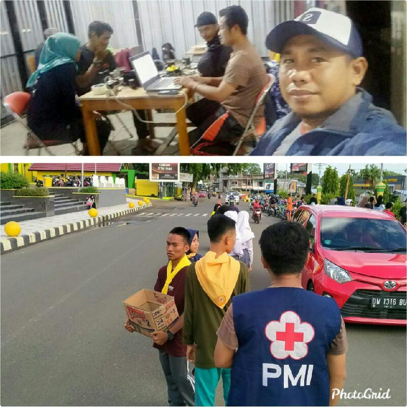 Tanggap Bencana,PMI Soppeng Kerahkan Relawan Bantu Evakuasi Banjir Dan Galang Donasi