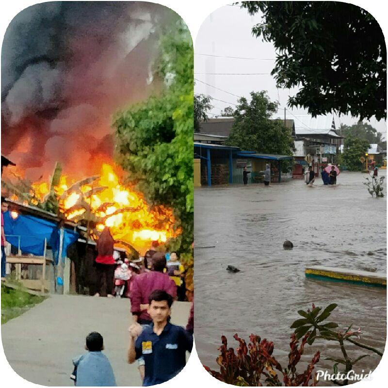 Banjir Di Marioriawa,Kebakaran Di Marioriwawo